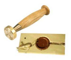 Изготовление латунных печатей